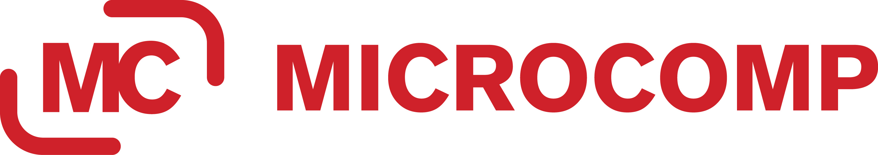 Logo Microcomp red